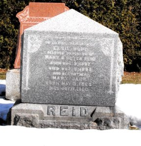 Headstone: HOPE  | Chateauguay Old Protestant Cemetery | Quebec Cemeteries