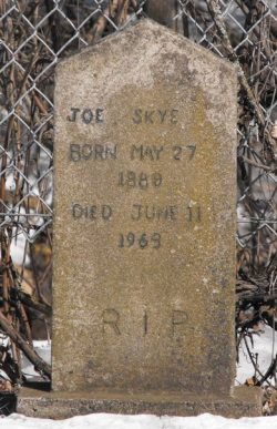 Skye   Kahnawake Protestant Cemetery
