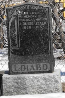 Diabo, Stalk | Kahnawawake Protestant Cemetery