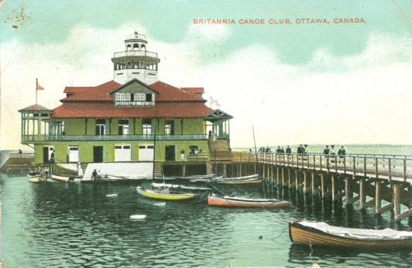 Britannia Canoe Club Ottawa Canada
