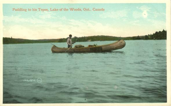 Native Canoe | Big Grassy river 35G, Big Island Mainland 93, Saug-a-Gaw-Sing 1