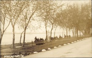 QUEBEC SURNAMES: Gareau + Besnard, Filles du Roi, Imbeault, Lariviere, Montreuil, Talbot LOCATIONS: Montreal, boucherville, Ste-Anne-de-Bellevue | Historic view of Boucherville, Quebec along the waterfront