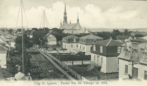 Cap St Ignace Early Settlers | Marchand surname