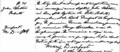 native Genealogy | Dearfoot | Dear | Deer