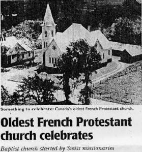 French protestant missionaries in Quebec   Grande Ligne / St-Blaise