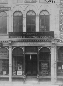 Montreal | Historic Image | Seorefront, W. Scott Mirrors & Picture Frames