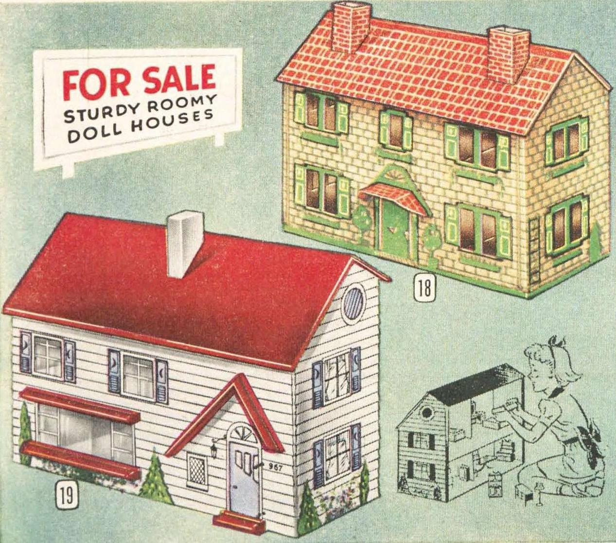 Vintage Dollhouse Furniture For Sale Part - 40: A Canadian Family - WordPress.com