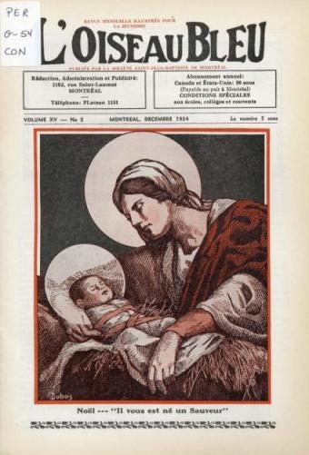 Religious Christmas image | Quebec Canada, haloes