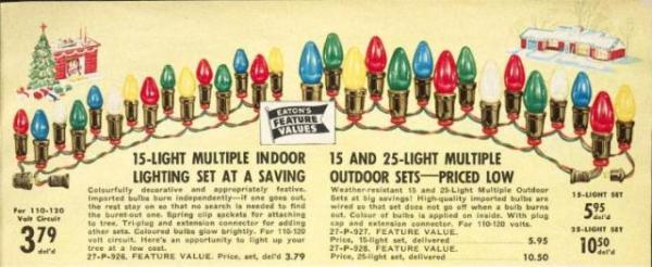 Christmas lights suitable for indoor and outdoor use