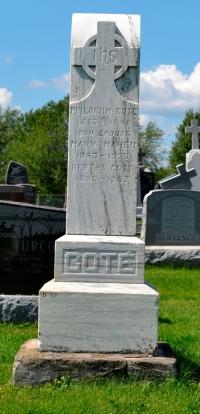 Quebec Cemetery, Ste-Philomene,