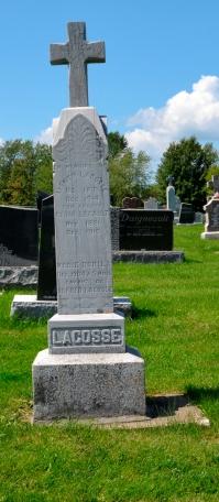 Quebec cemetery, Ste-Philomene (Mercier, Rousillon, Monteregie)