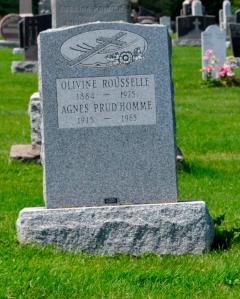 rousselle Prud'homme Ste-Philomene Cemetery Mercier 116