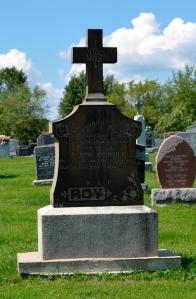 Quebec cemetery, Ste-Philomene (Mercier, Monteregie)