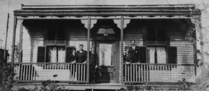 New Brunswick Quebec, William Herbert Hodkin, Florence Hodkin, Brian Hodkin