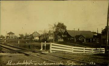 Papineauville Rue du Depot Railroad