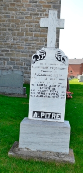 Ste-Philomene Cemetery Mercier Prud Homme Pitre Leboeuf
