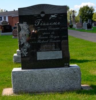 Ste-Philomene Cemetery Mercier Tisseur Boyer Brais