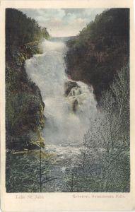 Ouiatchouan Falls Lac St Jean