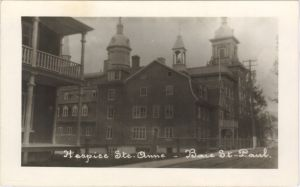 Historic image | Baie-St-Paul QC hospice | psychiatric hospital