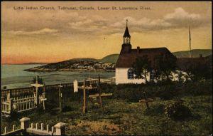 Little Indian Church Tadoussac