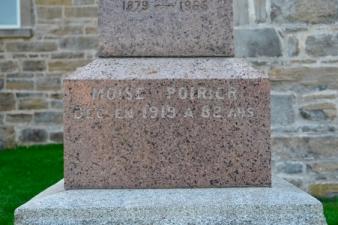 Poirier Moise 1919 Poirier genealogy