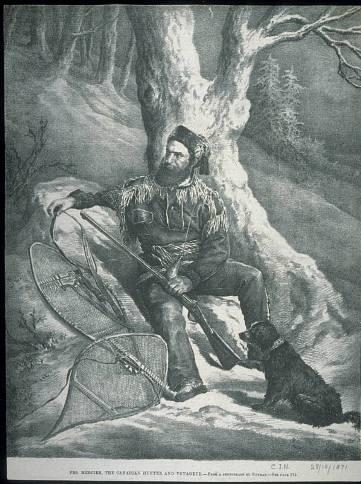 Francois Mercier hunter and voyageur