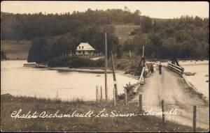 Lac Simon (Cheneville), Chalets Archambault