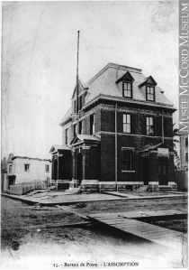 Historic Image of L'Assomption (Quebec) Post Office