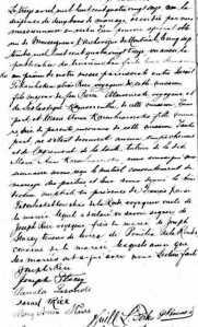 Rice Tekarihoken Israel Karonhiaroroks Marie Anne Mohawk Iroquois marriage