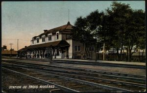 Quebec pioneers, Trois-Riviers Train Station