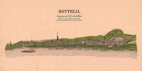 Montreal Pioneers ca.1830 Lefebvre surname