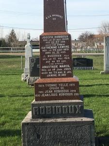 Headstone: YELLE | St. Constant | Quebec Cemeteries