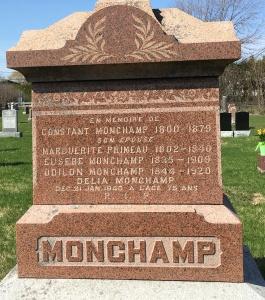 Headstone: PRIMEAU | St. Constant | Quebec Cemeteries