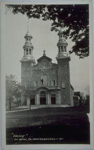 Napierville - Catholic Church - Riel, Caille