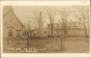 QUEBEC SURNAMES: Tessier + Archambault, Halle, Letourneau, Normand, Vermet LOCATIONS: | Quebec, Chateau-Richer | Presbytere de St. Augusten, Portneuf