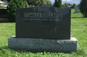 Headstone: ETHIER  | Cimetière de la Paroisse Saint-Clément, Beauharnois  | Quebec Cemeteries