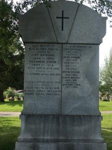Headstone: LYNCH  | Cimetière de la Paroisse Saint-Clément, Beauharnois  | Quebec Cemeteries
