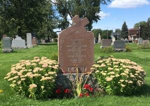 Headstone: HUOT | Cimetière de la Paroisse Saint-Clément, Beauharnois  | Quebec Cemeteries
