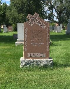 Headstone: BOYER | Cimetière de la Paroisse Saint-Clément, Beauharnois  | Quebec Cemeteries
