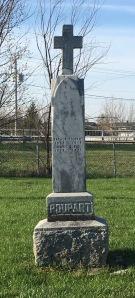 Headstone Poupart |