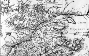 JOBIN French Canadian Pioneers: The Jobins of Quebec | Old map of Quebec Nouvelle France