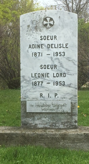 Delisle, Lord, Theoret | Cimetière des Soeurs Grises (Grey Nuns / Sisters of Charity)