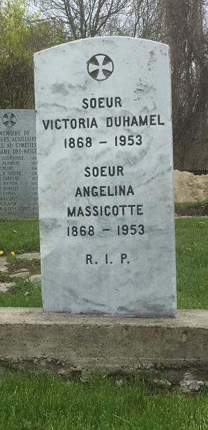 Duhamel, Massicotte | Cimetière des Soeurs Grises (Grey Nuns / Sisters of Charity)
