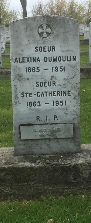 Dumoulin, Nolet, Ste-Catherine | Cimetière des Soeurs Grises (Grey Nuns / Sisters of Charity)