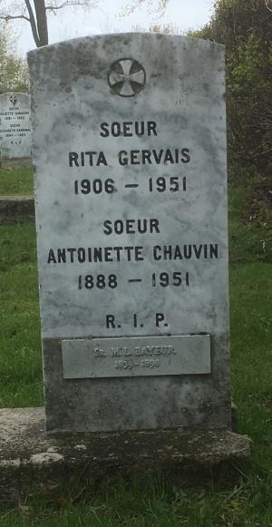 Bayeur, Chauvin, Gervais | Cimetière des Soeurs Grises (Grey Nuns / Sisters of Charity)