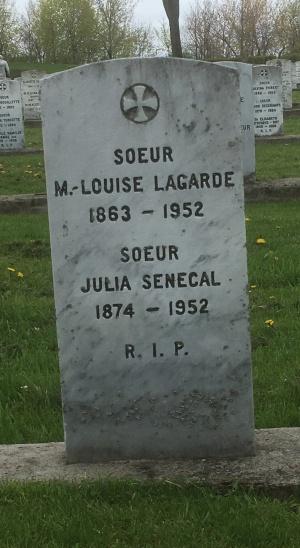 Lagarde, Senecal | Cimetière des Soeurs Grises (Grey Nuns / Sisters of Charity)