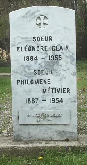 Clair, Lemay, Metivier | Cimetière des Soeurs Grises (Grey Nuns / Sisters of Charity)